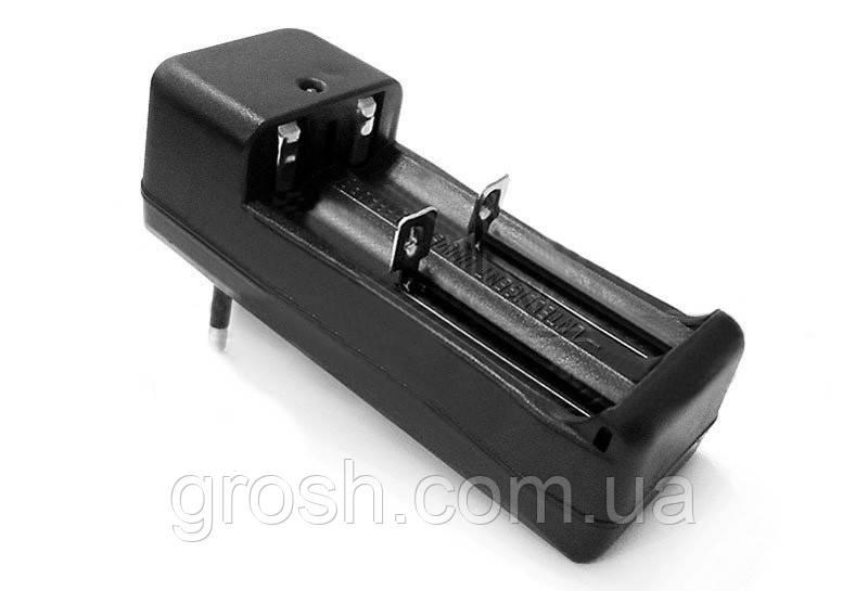 Зарядное устройство 220В 1000мАч 3,7В на 2 аккумулятора 18650