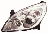 Фара правая Opel Vectra C 06-09 Н7+Н1 хромированный отражатель (DEPO). 442-1148R-LDEM1