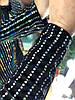 Сверкающее платье из нежного бархата с эффектом голокраммы. Размер: М-42 И Л-44. Цвет: черный (0442), фото 9