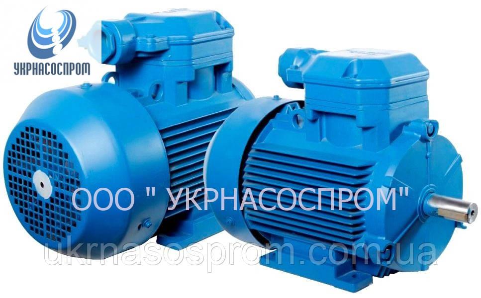 Электродвигатель 4ВР160S6 11 Квт 1000 об/мин взрывозащищённый