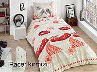 """Детский комплект постельного белья ALTINBASAK """"Racer kirmizi!"""" Полуторный"""