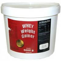 Activevites WHEY Weight Gainer 5000 g.Гейнер.