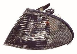 Указатель поворота левый+ правый дымчатый BMW 3 E46 (DEPO). 444-1506P-AE-S