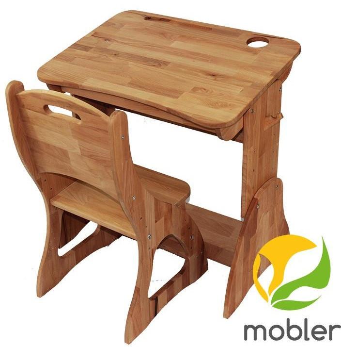 Комплект ученический парта +стул (60 см) TM Mobler