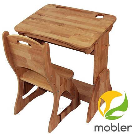 Комплект ученический парта +стул (60 см) TM Mobler, фото 2