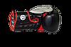 Боксерські рукавиці PowerPlay 3006 Чорні 12 унцій, фото 2