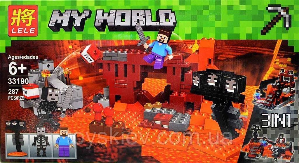 Конструктор Minecraft 33190 «Атака Иссушителя»