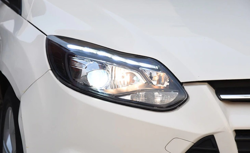 Передние фары Ford Focus 3 (11-15) тюнинг оптика