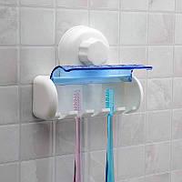 Держатель для зубных щёток с крышкой, фото 1