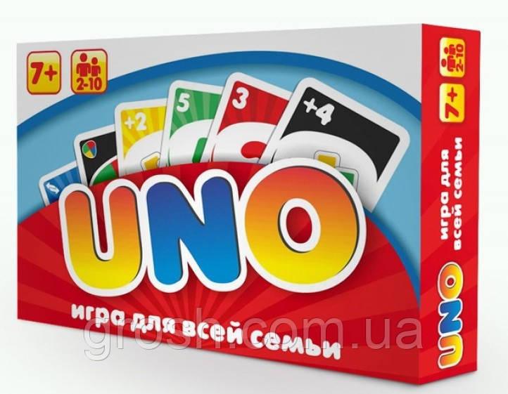 Игра UNO люкс 2 в 1