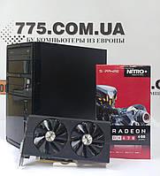 Игровой компьютер Tower, AMD FX6300 3.8GHz, RAM 12ГБ, SSD 120ГБ + HDD 320ГБ, Radeon RX470 4ГБ, фото 1