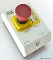 """Защитная оболочка с кнопкой """"Стоп"""" IP55 ИЭК"""