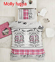 """Детский комплект постельного белья ALTINBASAK """"Molly fusya!"""" Полуторный"""