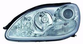 Фара правая Mercedes 221 -12 механический/электрический корректор H7/H9/PY24W/W5W (DEPO)
