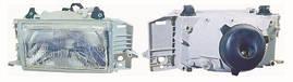 Фара правая Fiat Uno -96 механический корректор Н4 (пр-во DEPO). FP2021R6-E