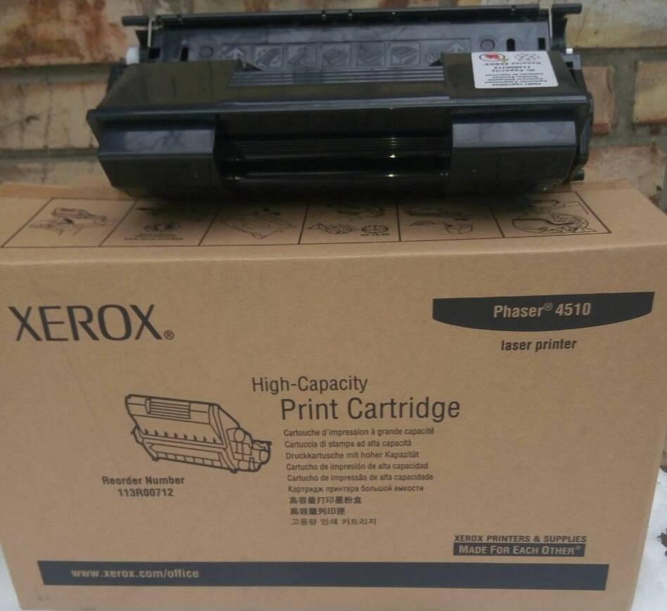 Картридж Xerox 113R00712 max Xerox Phaser 4510 Black