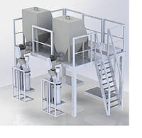Дозатор сыпучих пылеобразующих продуктов (мел, тальк, каолин и пр.)