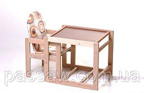 Детский стульчик-трансформер для кормления Пчёлка