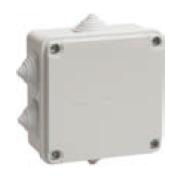 Коробка КМ41233 распаячная для о/п 100х100х50мм IP44