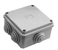 Коробка КМ41255 расп.для о/п 100х100х50мм IP44 (6 г/в, защ.к)