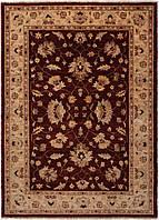 Афганский шерстяной ковёр ручной работы с эффектом старения. Чуби. Шерсть. Размер2160х1560мм.