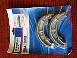 Тормозные колодки задние (барабан) авенис 125сс Suzuki Avenis Epicuro 54401-07890, фото 4