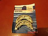Тормозные колодки задние (барабан) авенис 125сс Suzuki Avenis Epicuro 54401-07890, фото 3