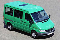 Фаркоп Mercedes Sprinter (1995-2006) L-3000 (бампер с подножкой)(Мерседес Спринтер) Автопрыстрий