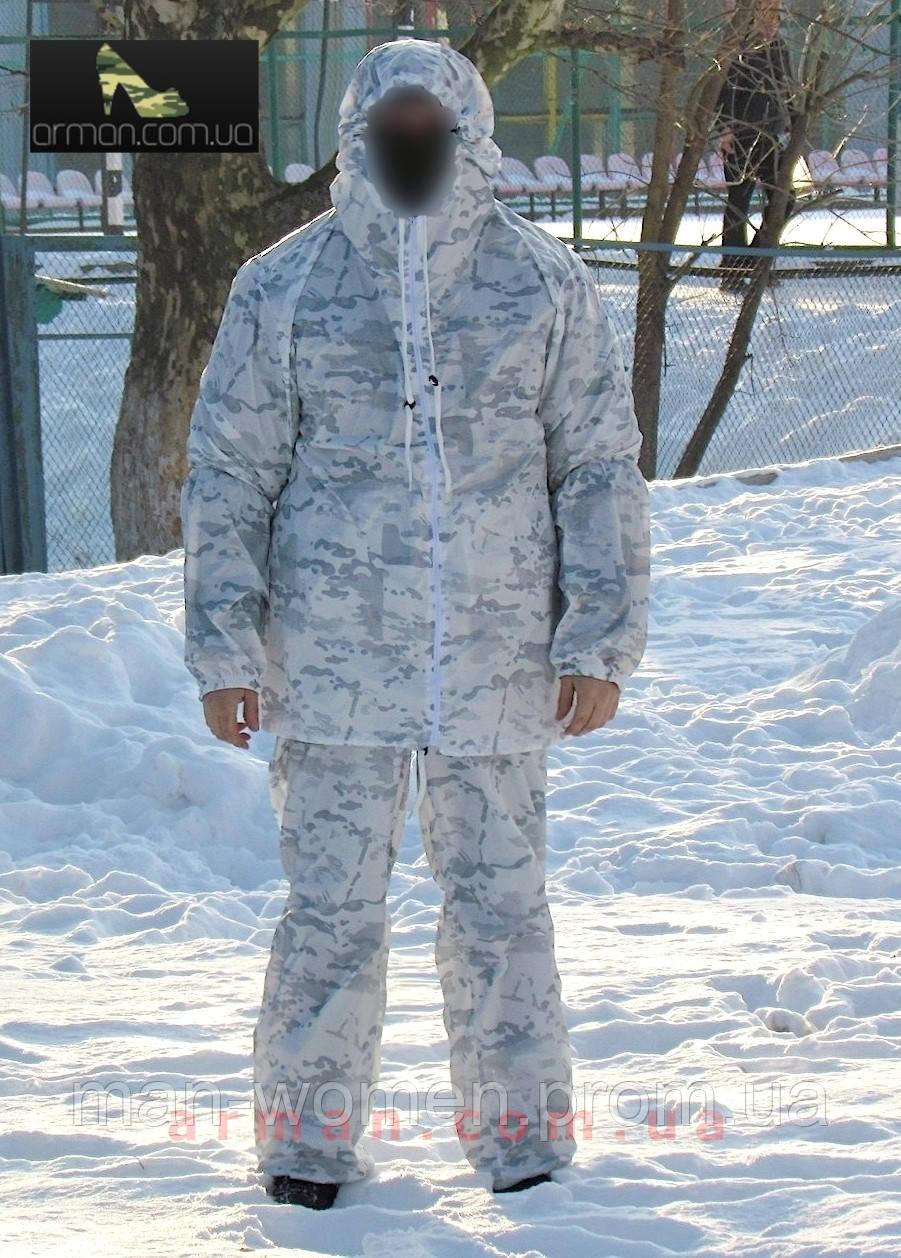 Зимний маскировочный костюм, маскхалат мультикам альпайн.
