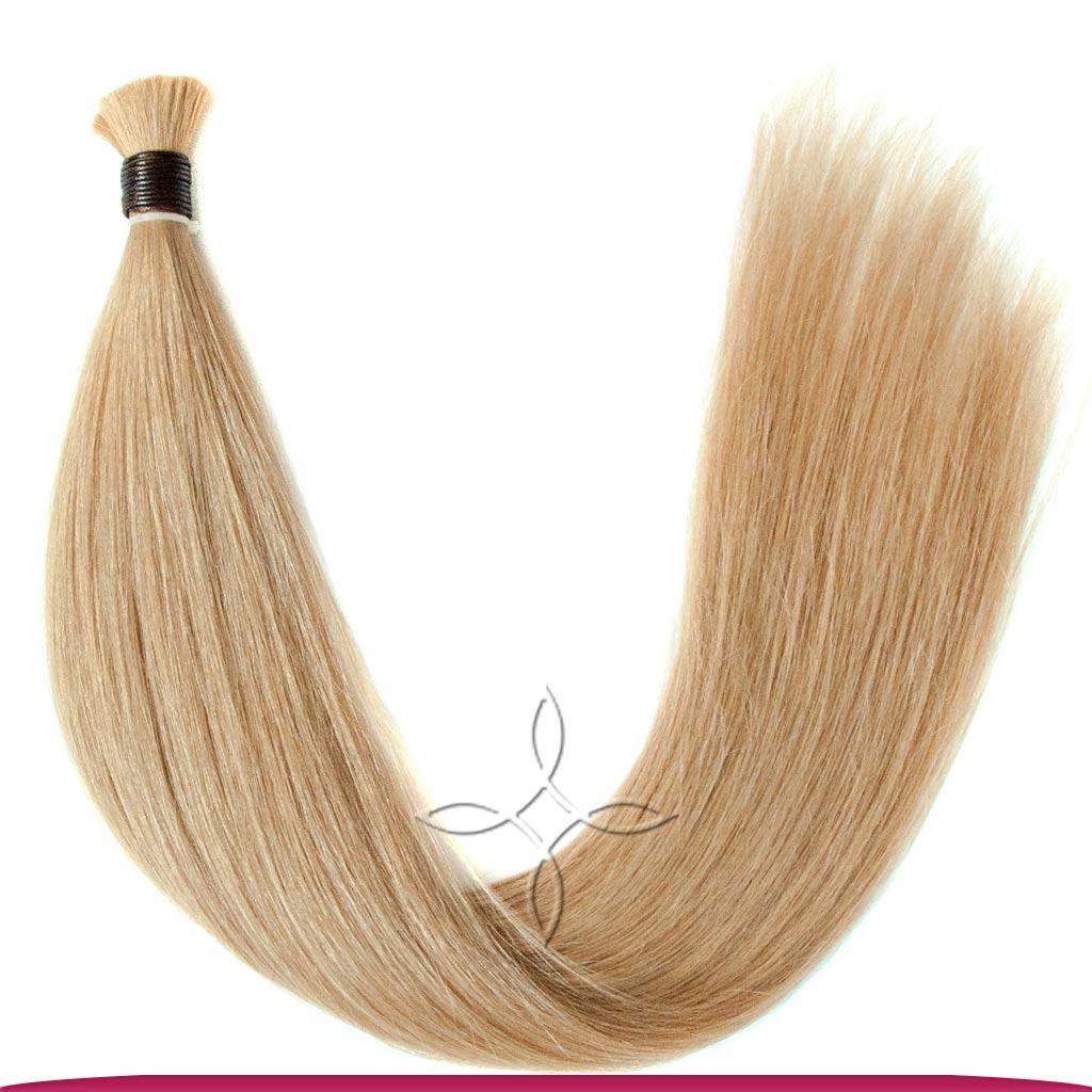 Натуральные Славянские Волосы в Срезе 70 см 100 грамм, Светло-Русый №18B
