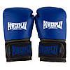 Боксерські рукавиці PowerPlay 3015 Сині [натуральна шкіра] 12 унцій, фото 3
