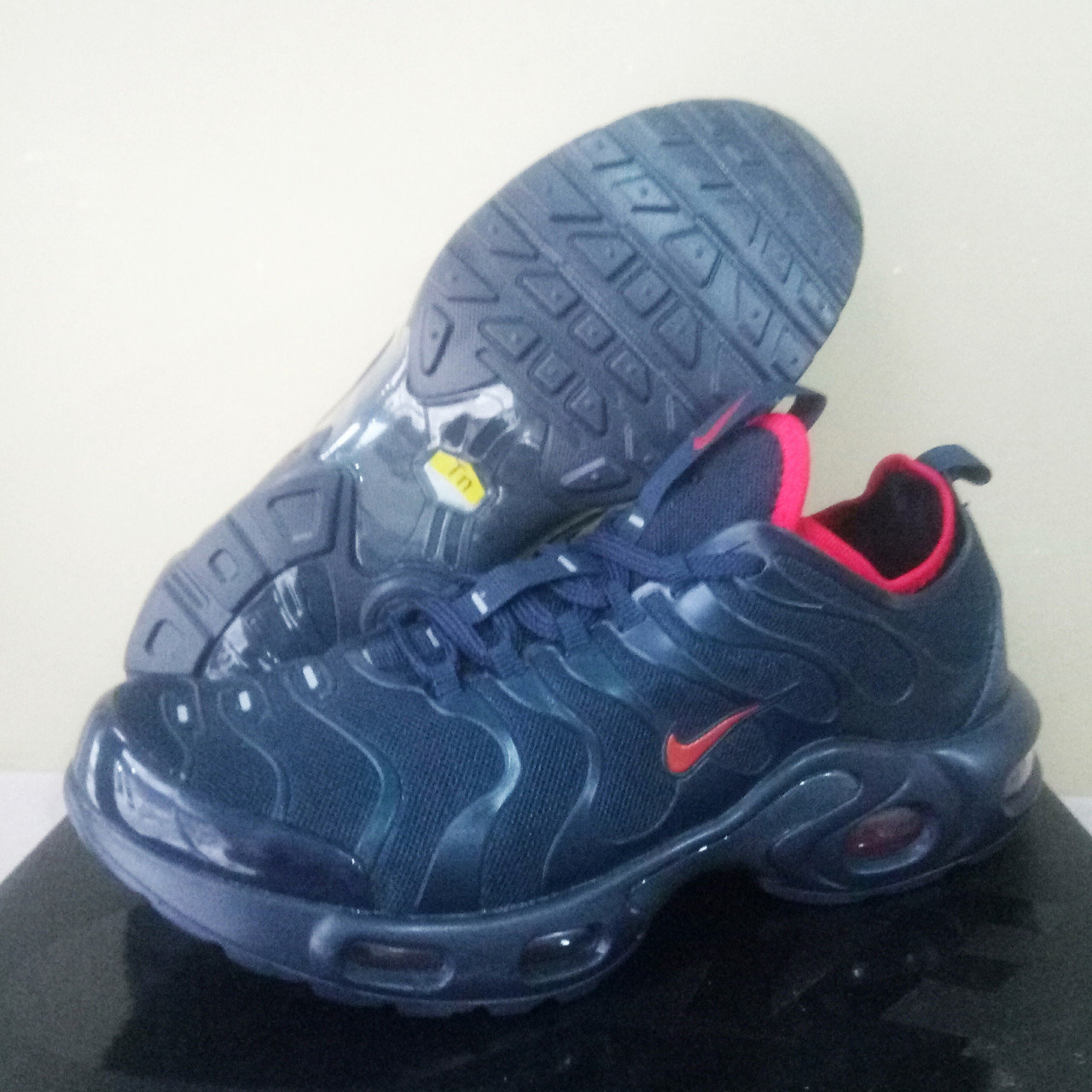 cd478dfe Кроссовки мужские Nike Air Max TN Plus Navy/Red (в стиле Найк) 44 ...