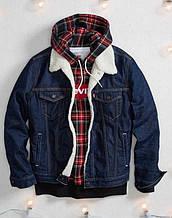 Джинсовая куртка Levis Sherpa Trucker Jean Jacket  Rinse