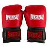 Боксерские перчатки PowerPlay 3015 красные (натуральная кожа) 16 унций, фото 3
