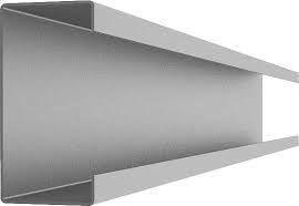 Оцинкованный направляющий профиль С100 цинк, тол. 1,5 мм