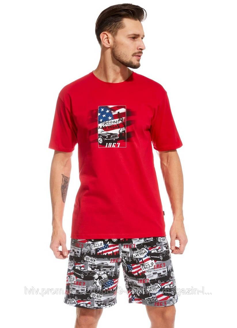 Мужская пижама хлопок 47 America от TM Cornette (Польша) - Интернет-магазин