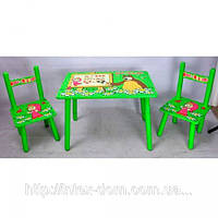 Детский столик со стульчиками «Маша и медведь» Bambi M0295