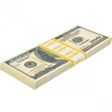 Сувенір «100 доларів» 100D, фото 2