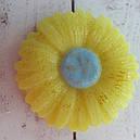 Мыло ручной работы Ромашка желтая, фото 2