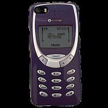 Flashbacks Nokia 3310 Style чехол для iPhone 5/5S/SE