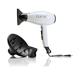 Фен для волос GA.MA CLASSIC, белый, A11.CLASSIC.C.BN, 2200 W