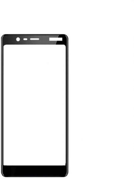 Nokia 5.1 (Nokia 5 2018) Colorful Tempered Glass Black Защитное Стекло