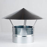 Зонт на трубу диаметр 300 мм., оцинкованная сталь 0,5 мм., вентиляция, дымоход