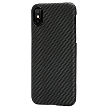 Pitaka Aramid MagCase кевларовый чехол для iPhone X/XS  Black/Grey