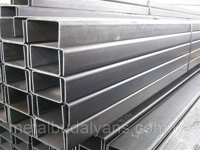 Швеллер стальной гнутый  80х60х4,0мм  ГОСТ 8278-83