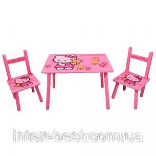 Детский столик со стульчиками «Китти» Bambi M0293, фото 2