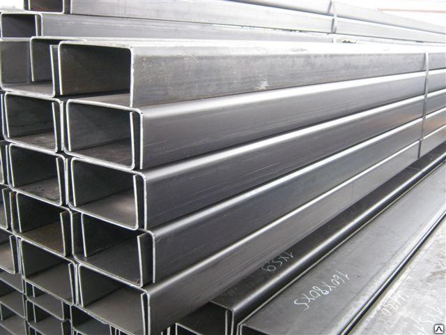 Швеллер стальной гнутый  100х80х5,0мм  ГОСТ 8278-83