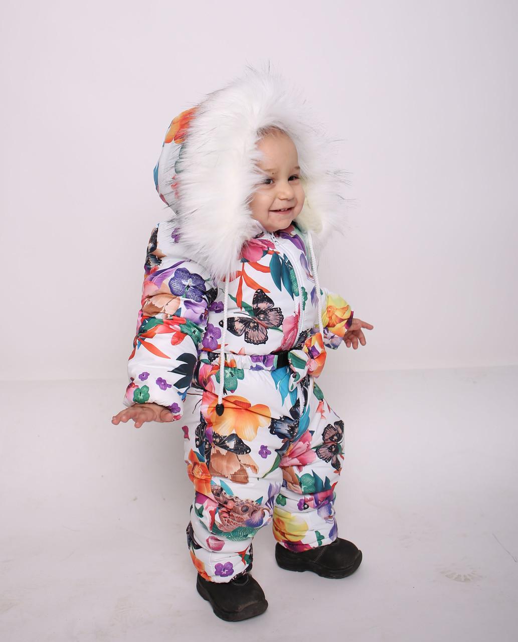 Человечек Комбинезон детский зимний Костюм для детей Детский зимний комбинезон Новинка сезона 2019 ТОП