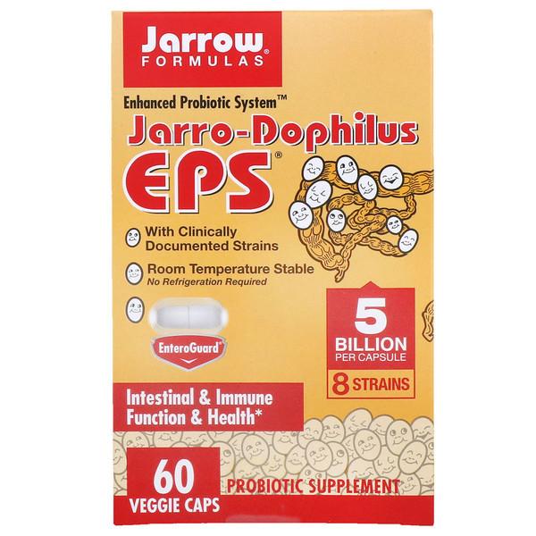 Пробиотики Дофилус Jarro-Dophilus EPS Jarrow Formulas, 60 капсул