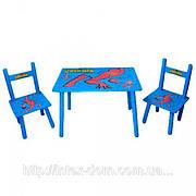 Детский столик со стульчиками «Человек-паук» Bambi M0294
